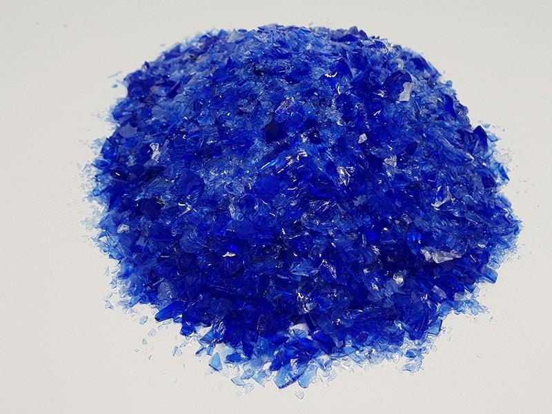 Verre - Bleu Bourgeois